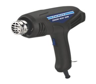 Heat guns and thermometers