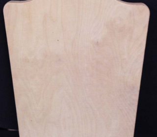Solid Wood 420mm x 535mm x 15mm